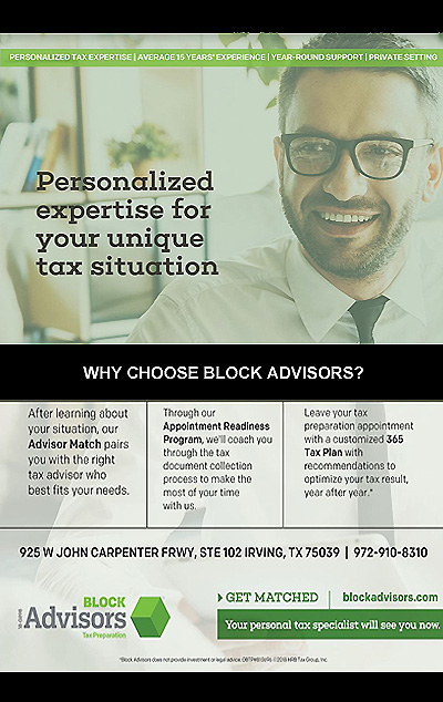 Block Advisers Tax Speciallest